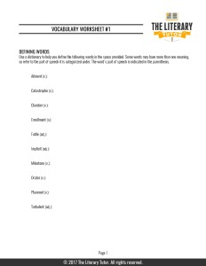 vocabulary-worksheet-1